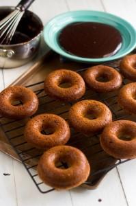 Gluten Free, Baked Almond Joy Donuts - GoodLife Eats