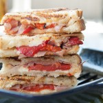 Roasted Pepper Grilled Cheese 2