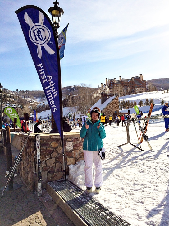 beaver creek ski lessons first timer