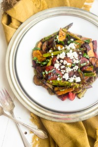 Grilled Mediterranean Veggie Salad - GoodLife Eats