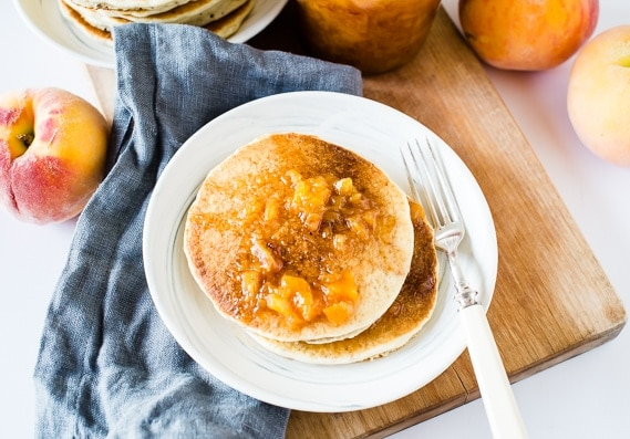 Peach Syrup with Cinnamon