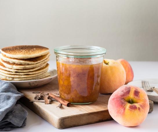 peach syrup recipe