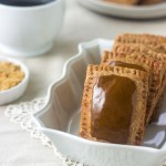 Homemade Pop Tarts with Honey Cream Cheese Filling and Molasses Glaze | GoodLifeEats.com |