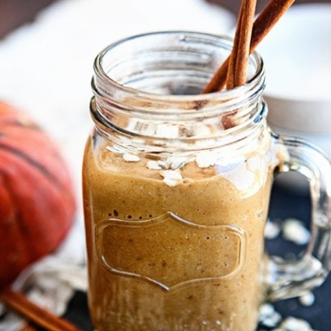 Pumpkin Oatmeal Breakfast Smoothie