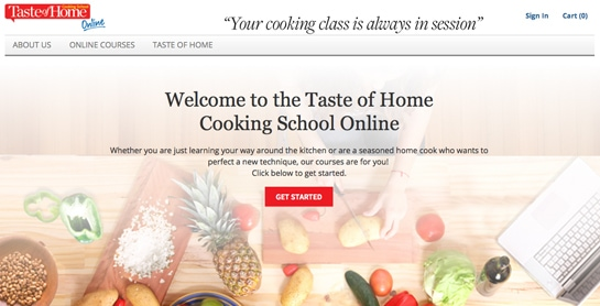 Taste of Home Online Cooking School Review