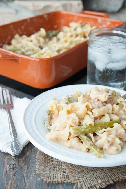 Asparagus and Bacon Macaroni and Cheese Recipe