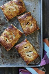 Caramel Apple Pecan Cheesecake Turnovers