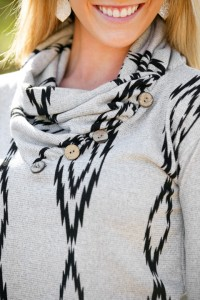Ellendale Cowl Neck Sweater - White Plum Coupon Code and Giveaway