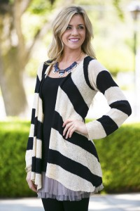 Pippa Knit Cardigan - White Plum Giveaway and Coupon Code