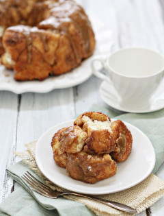 caramel topped cinnamon pull apart bread recipe