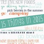 15 Things in 2015
