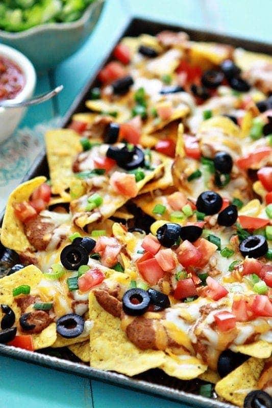 Ultimate Easy Nachos Super Bowl Appetizer Good Life Eats