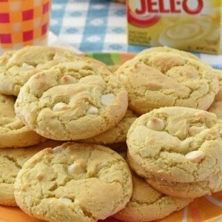 Lemon Cheesecake Pudding Cookies
