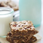 chocolate chip pecan blondies recipe