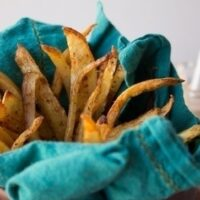 Oven-Baked Seasoned Fries
