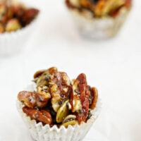 Salted Vanilla Maple Nut and Seed Clusters