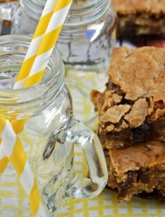 gluten free oatmeal raisin bars