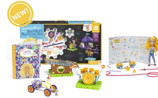 goldieblox coupon code and giveaway