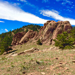 red rocks trail boulder colorado