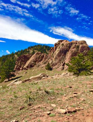 red rocks trail boulder colorado