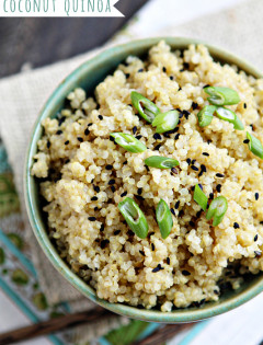 Easy Coconut Quinoa Recipe