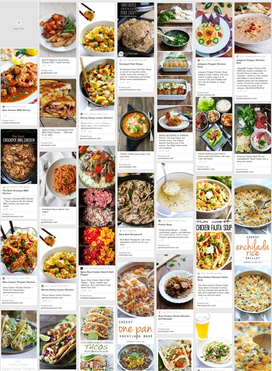 Pinterest Dinner Recipe Ideas