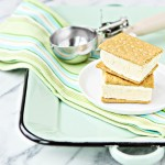4 Ingredient Key Lime Pie Ice Cream Sandwiches