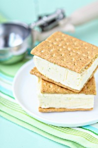 4 Ingredient Key Lime Pie Ice Cream Sandwich Recipe - GoodLife Eats