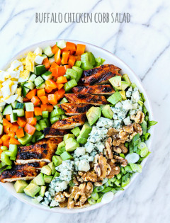 Buffalo Chicken Cobb Salad Recipe