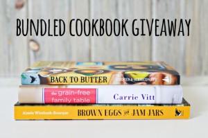 Cookbook Bundle Giveaway