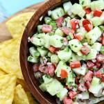 Creamy Cucumber Salsa Recipe