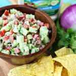 Creamy Cucumber Salsa Recipe - GoodLife Eats