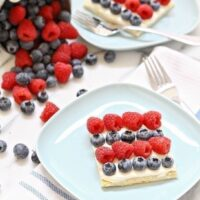 Red, White, and Blue Berry Dessert Bites