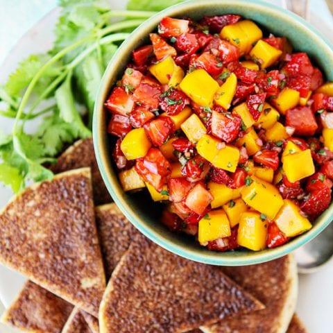 Strawberry Mango Salsa Recipe