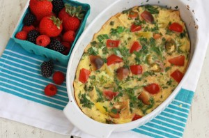 Easy Migas Bake - Gluten free, and easily customizable!