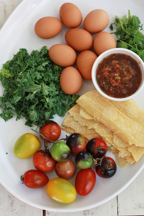 Easy Migas Bake - A build-your-own take on a Tex-Mex fave.