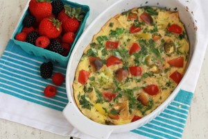 Easy Migas Bake - Gluten free, and delicious!