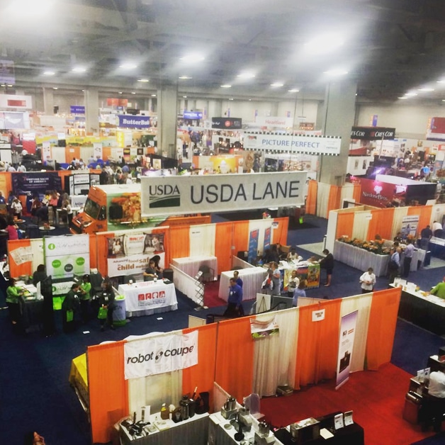 SNA conference Exhibit Hall