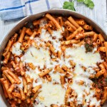 Easy One Skillet Baked Ziti Recipe