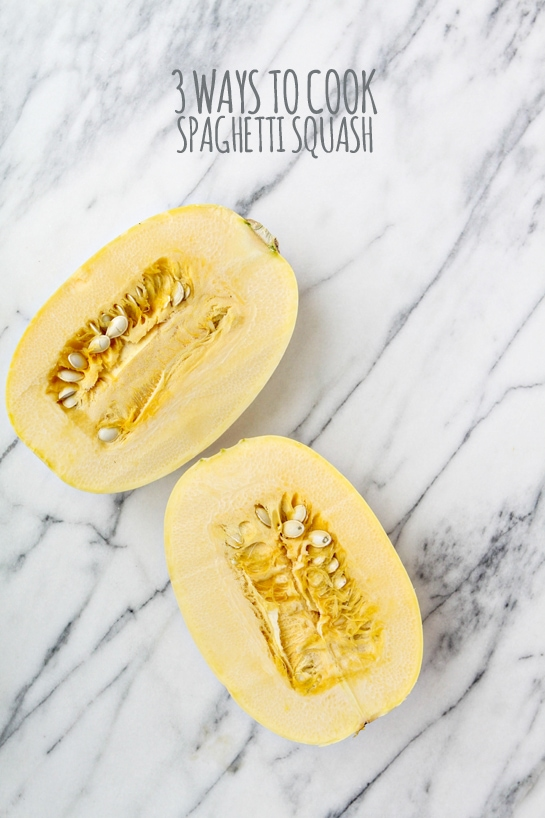 How to Cook Spaghetti Squash - 3 Ways