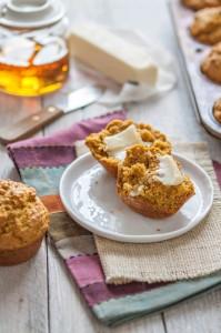 Pumpkin Cornbread Muffin Recipe