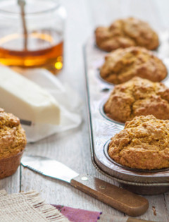 Pumpkin Cornbread Muffin Recipe