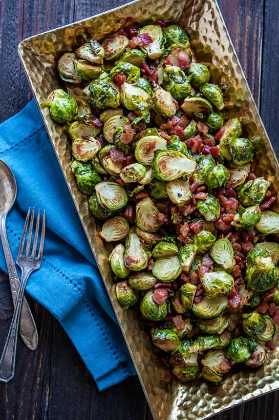 Roasted Brussels Sprouts Bacon Recipe