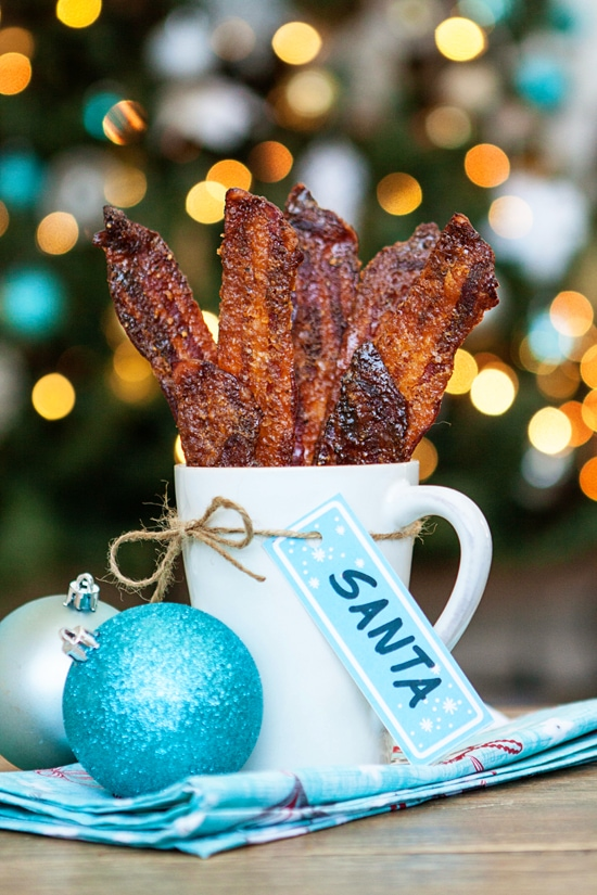 Black Pepper Candied Bacon