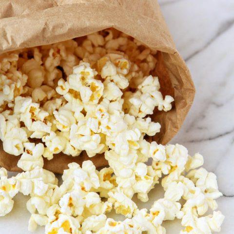 Homemade Microwave Popcorn How To Make