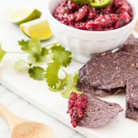 Roasted Cranberry Salsa
