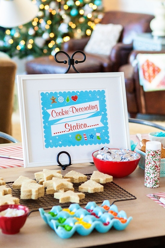 tips for hosting a successful and fun kids holiday cookie party - Christmas Cookie Decorating Party