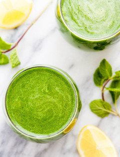 Green Apple, Kiwi, Spinach Juice + How to Freeze Spinach: 4 Easy Ways
