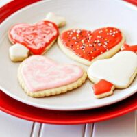 Easy Vanilla Cut-Out Cookies for Valentine's Day