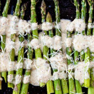 Roasted asparagus with lemon walnut dressing good life eats roasted asparagus with lemon walnut dressing ccuart Choice Image